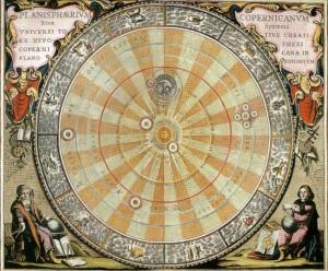 Planisphère, 17ème siècle