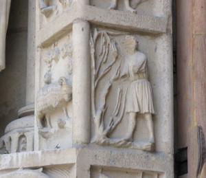 Zodiaque portail Notre Dame de Paris